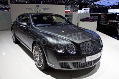 Affisch GENEVA - MARS 8: Den nya Bentley Continental