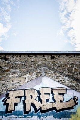 Affisch graffiti gratis