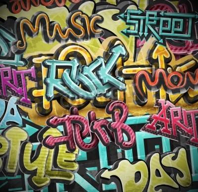 Affisch Graffiti grunge bakgrund, eps 10