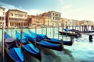 Affisch Grand Canal, Venedig, Italien
