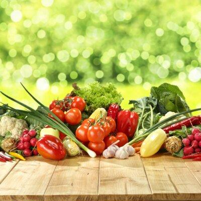 Affisch grönsaker