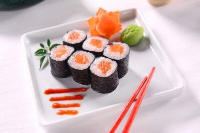 Affisch hossomaki Sushi
