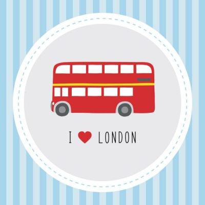 Affisch Jag älskar London12