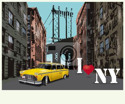 Affisch Jag älskar New York