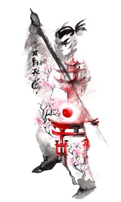 Affisch japan