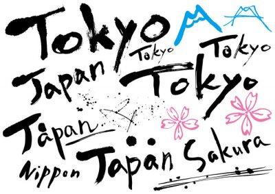 Affisch japan_mojisozai