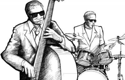 Affisch jazzband