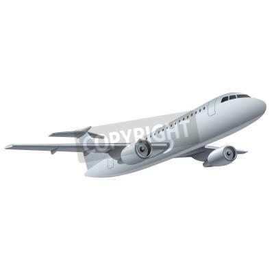 Affisch jet flygplan