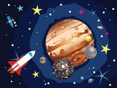Affisch Jupiter Planet
