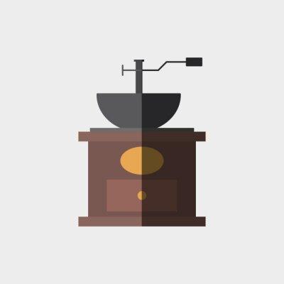 Affisch Kaffe ikonen design