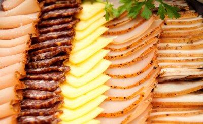 Affisch Kalla kött med ost