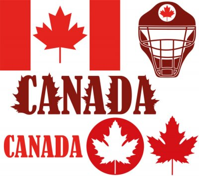 Affisch kanada