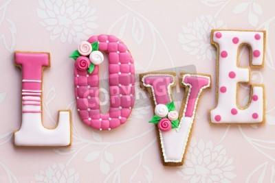 Affisch Kärlek cookies