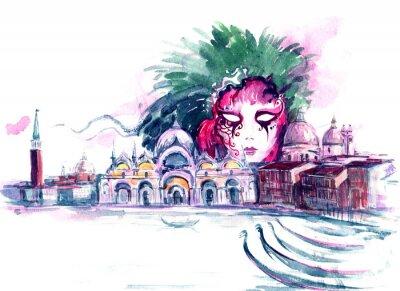 Affisch karneval
