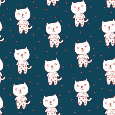 Affisch Katt och stjärna