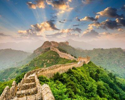 Affisch Kinesiska muren