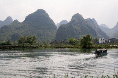 Affisch krajobraz okolic Yangshuo