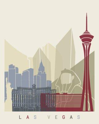 Affisch Las Vegas horisont affisch