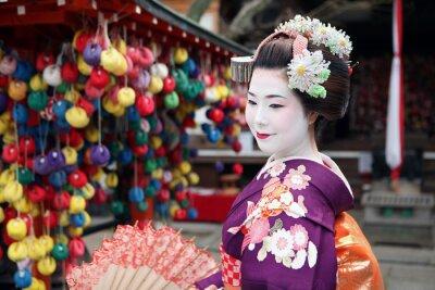 Affisch Le visage de Kyoto