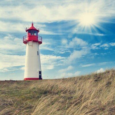 Affisch leuchtturm Listland