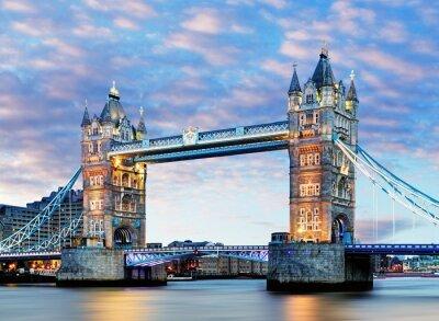Affisch London, Tower Bridge