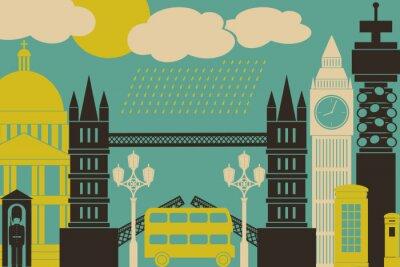 Affisch London View