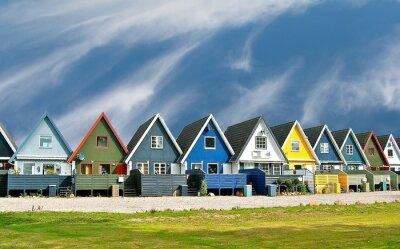 Affisch maisons scandinaves