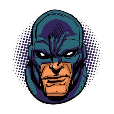 Affisch Maskerade superhjälte