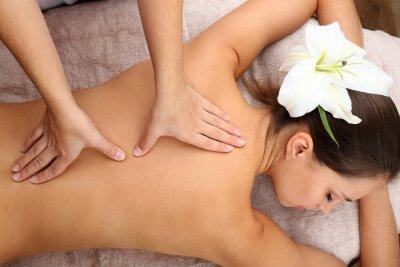 Affisch Massör gör massage