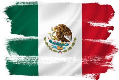 Affisch Mexico sjunker