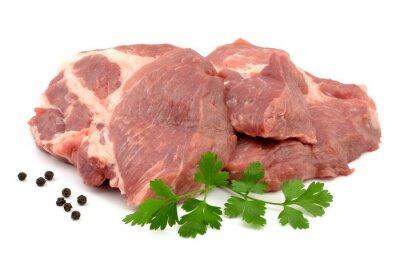 Affisch mięso wieprzowe karkówka