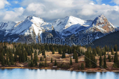 Affisch Mountain Landscape in Colorado Rocky Mountains, Colorado, United States.