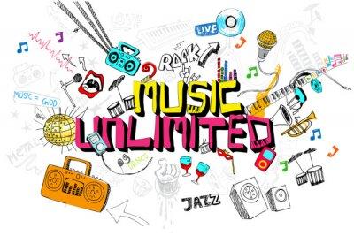 Affisch Music Unlimited