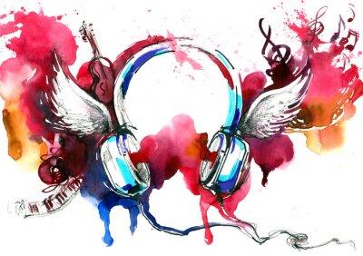 Affisch musik