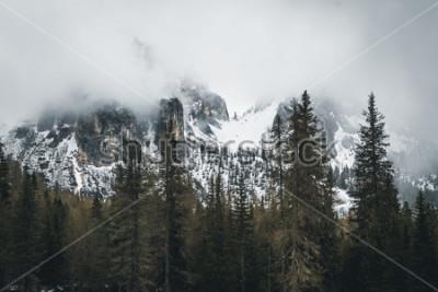 Affisch Natures i Dolomiterna, Italien