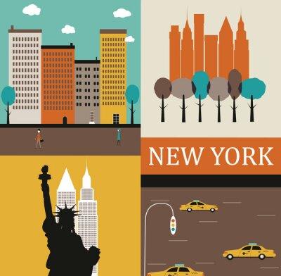 Affisch New York.