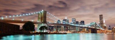 Affisch New York panorama