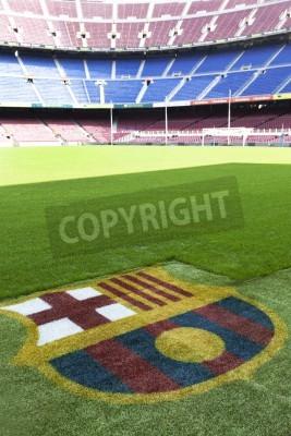 Affisch Nou Camp - FC Barcelona stadion detalj