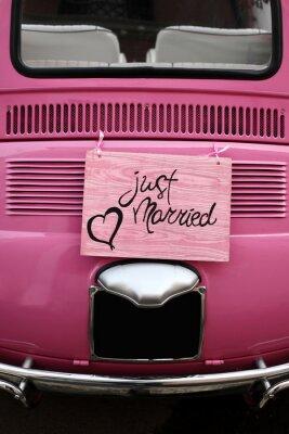 Affisch Nygift