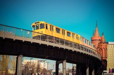 Affisch Oberbaumbrücke