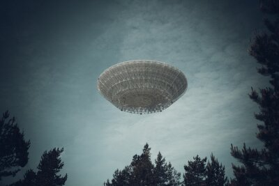 Affisch Oidentifierat flygande objekt