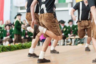 Affisch Österrike folkdans