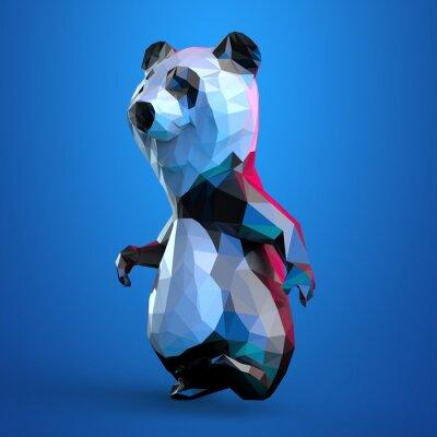 Affisch panda