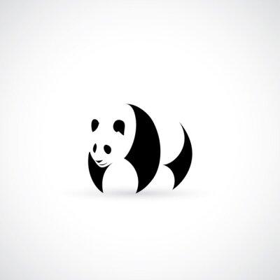 Affisch Panda icon