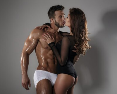 Affisch Passion kvinna och man