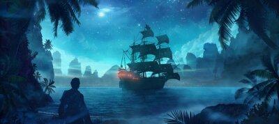 Affisch pirat