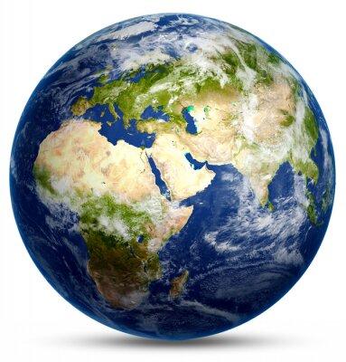 Affisch planet världen