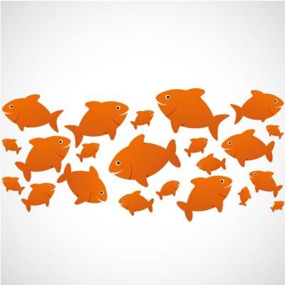 Affisch poissons