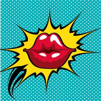 Affisch popkonstdesign