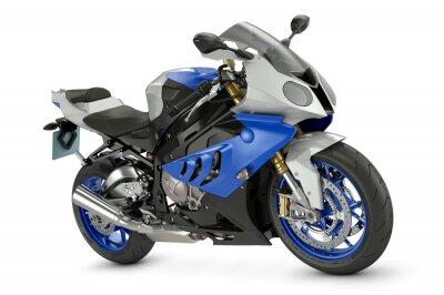 Affisch Racing motorcykel